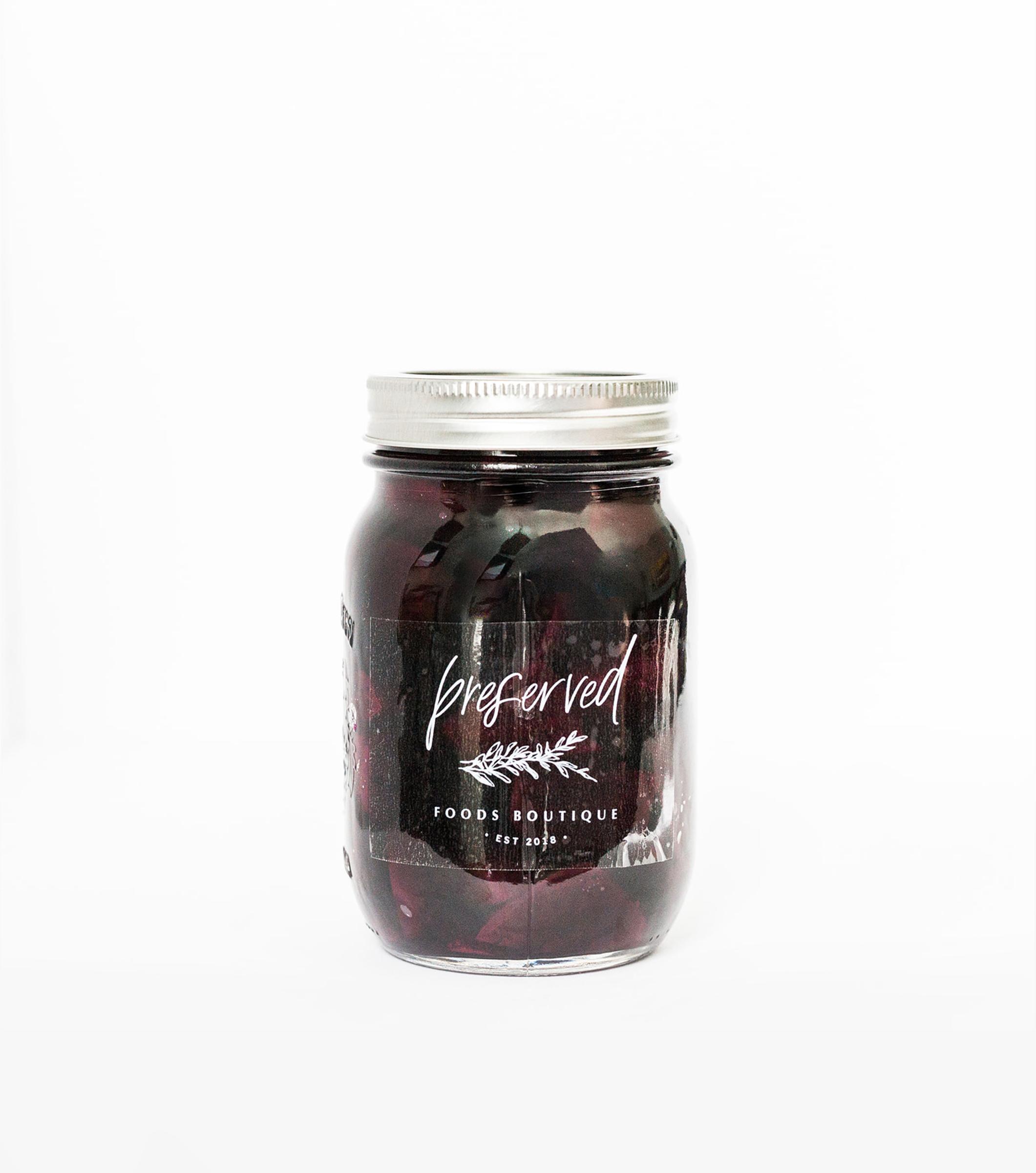 Preserved Foods Boutique - Logo Design and Packaging Design - Bexley Design Co