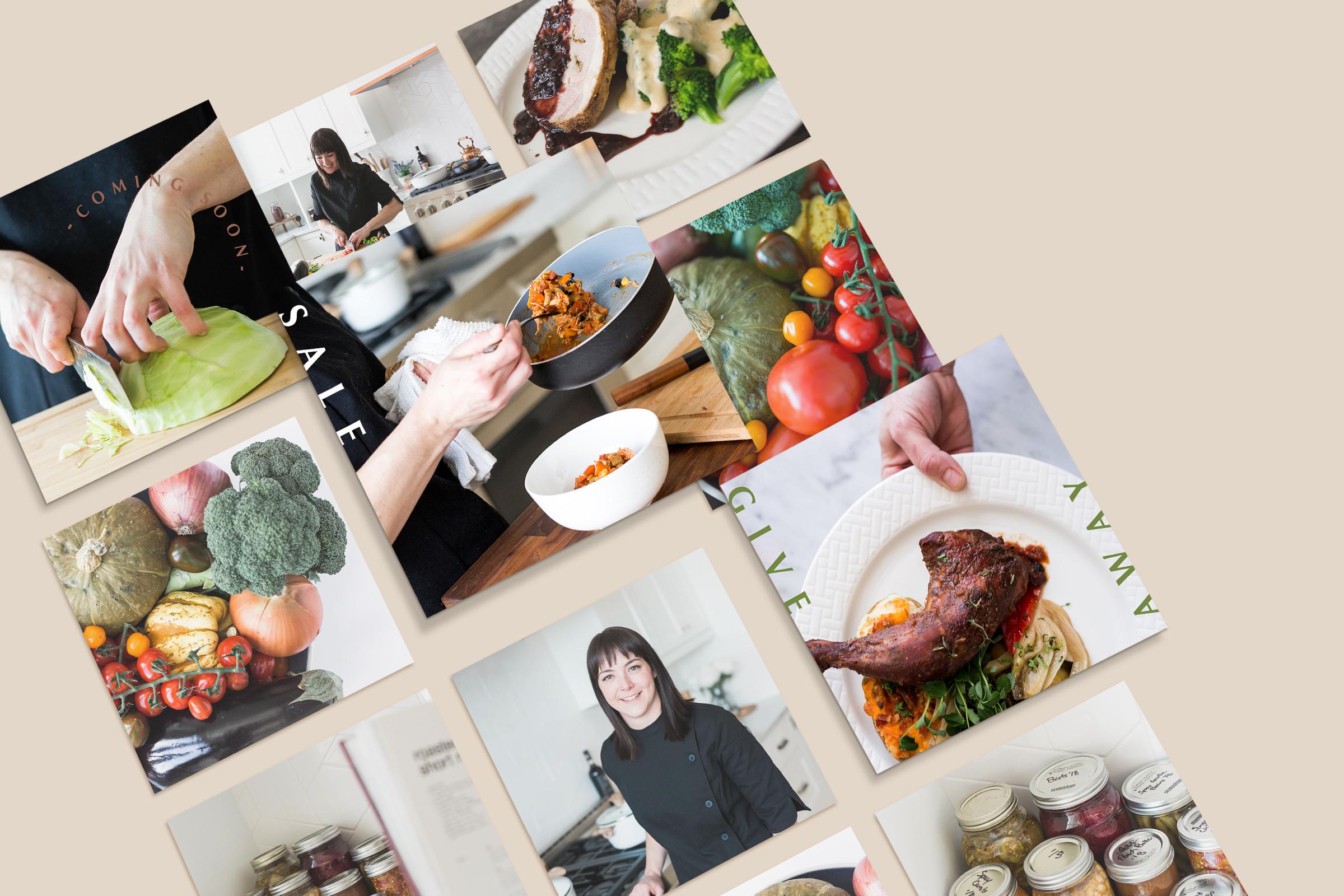 Preserved Foods Boutique - Logo Design and Social Media Launch Kit - Bexley Design Co