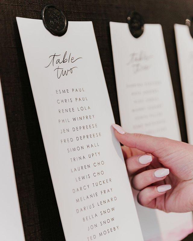 Being a rebel and posting this detail shot welllll after my app tells me I should. 💁🏻♀️ ⠀⠀ * ⠀⠀photo by @brooklyncphoto * * *  #styledshoot #modernbride #modernwedding #bride2019 #darlingmovement #wedding #weddingseason #theknot #weddingwire #weddinginspo #weddingchicks #huffpostido #stationeryaddict #stationerylove #weddingpaper #weddingstationery #seatingchart #seatingchartideas #waxseal #waxseals #waxsealstamp