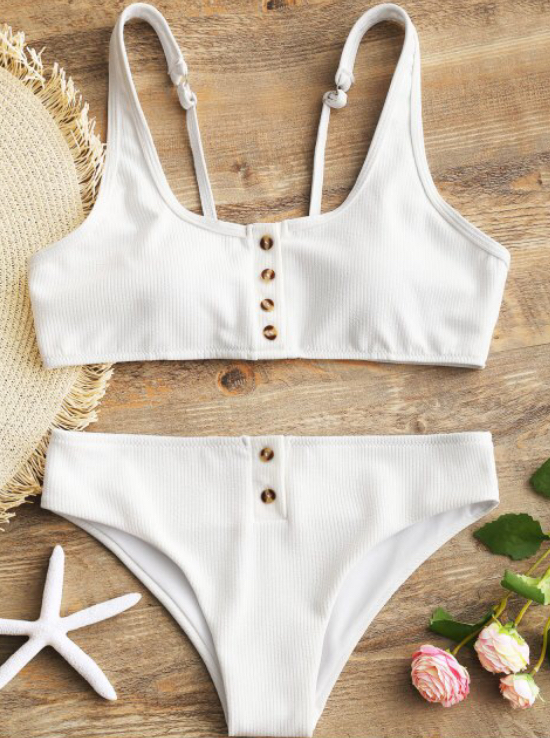 Always good for more affordable options is Zaful. Little tip! Always read the reviews in regards to sizing + fit.  Shop this  classic white  number.