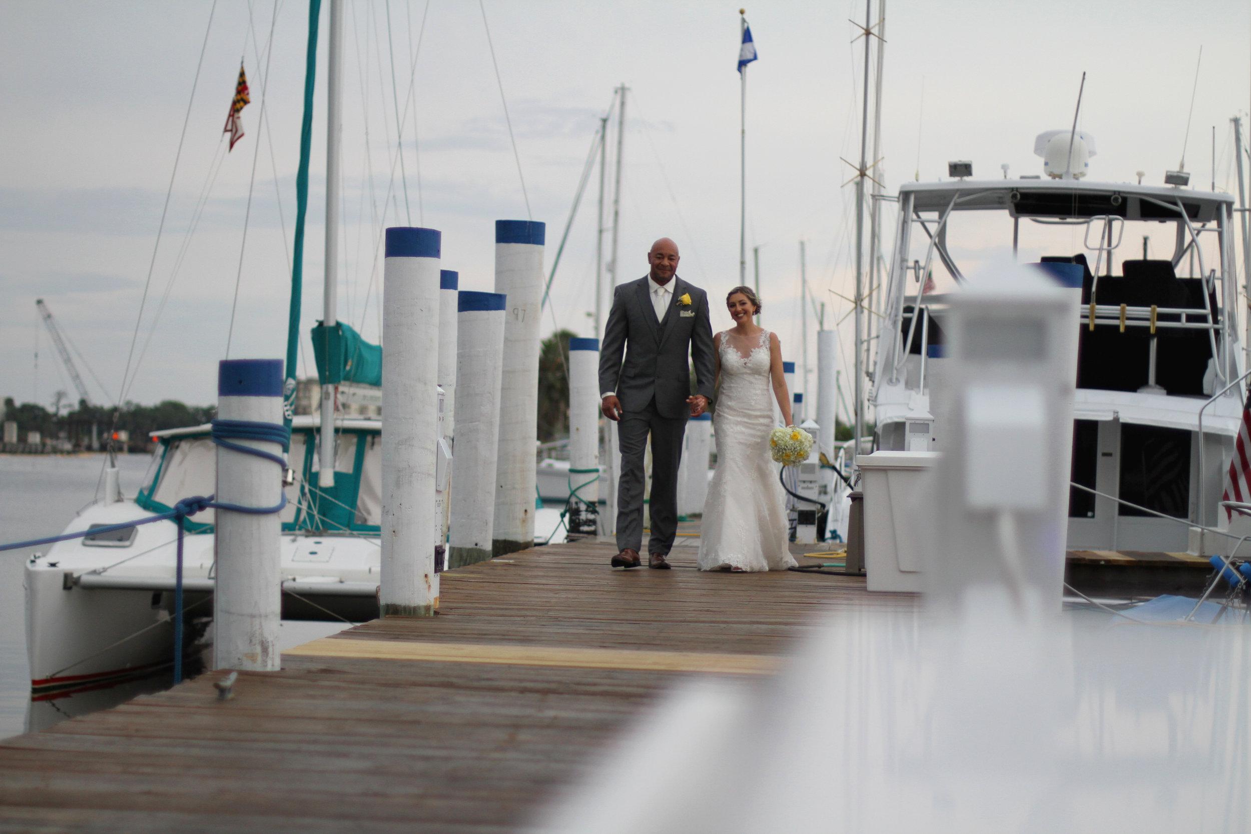 Jason and Claira Docks 2