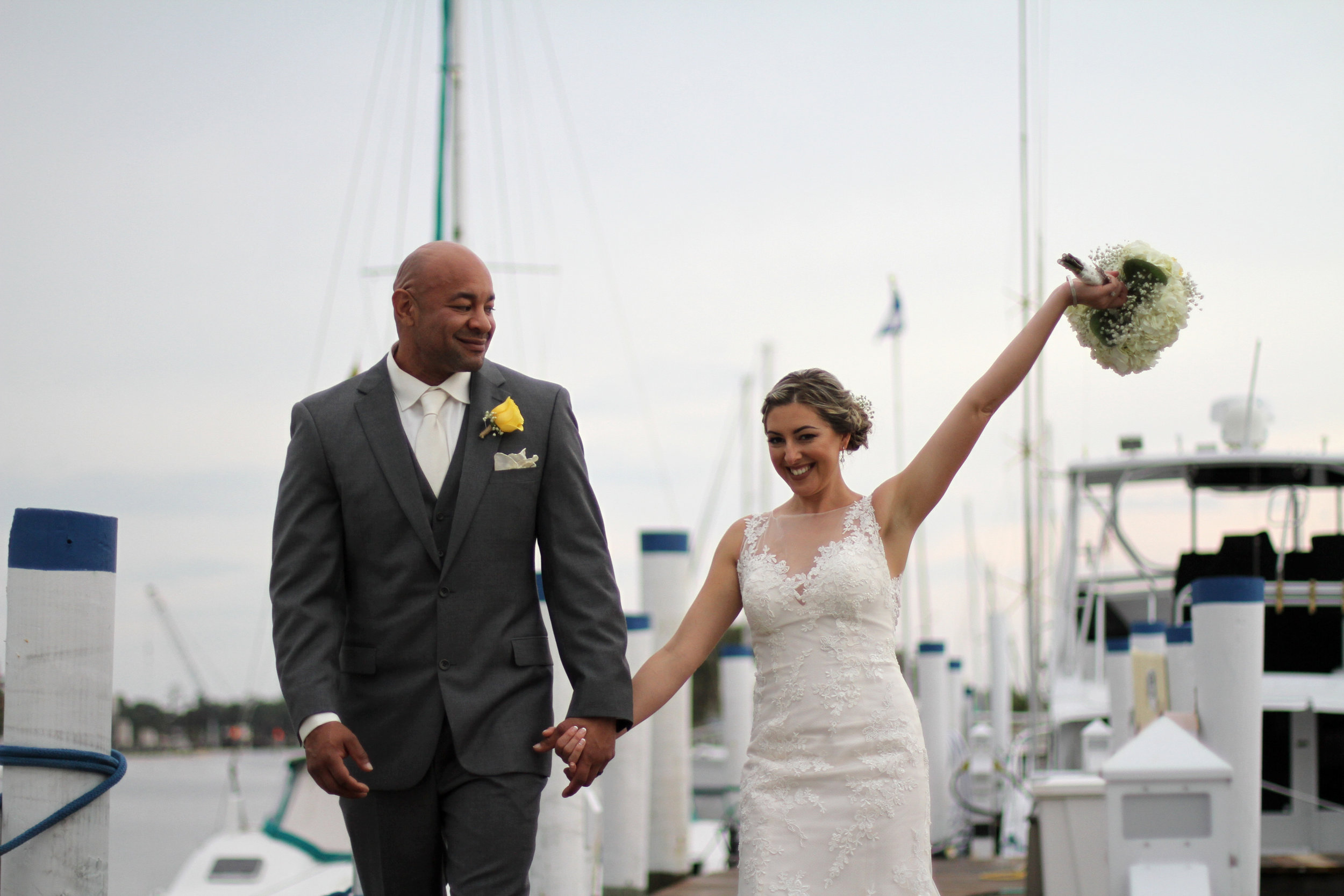 Jason and Claira dock 3