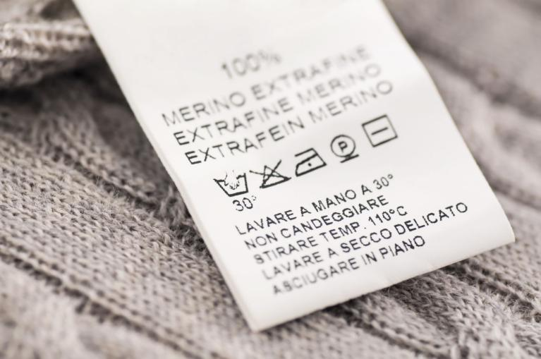 Make sense of cleaning labels here