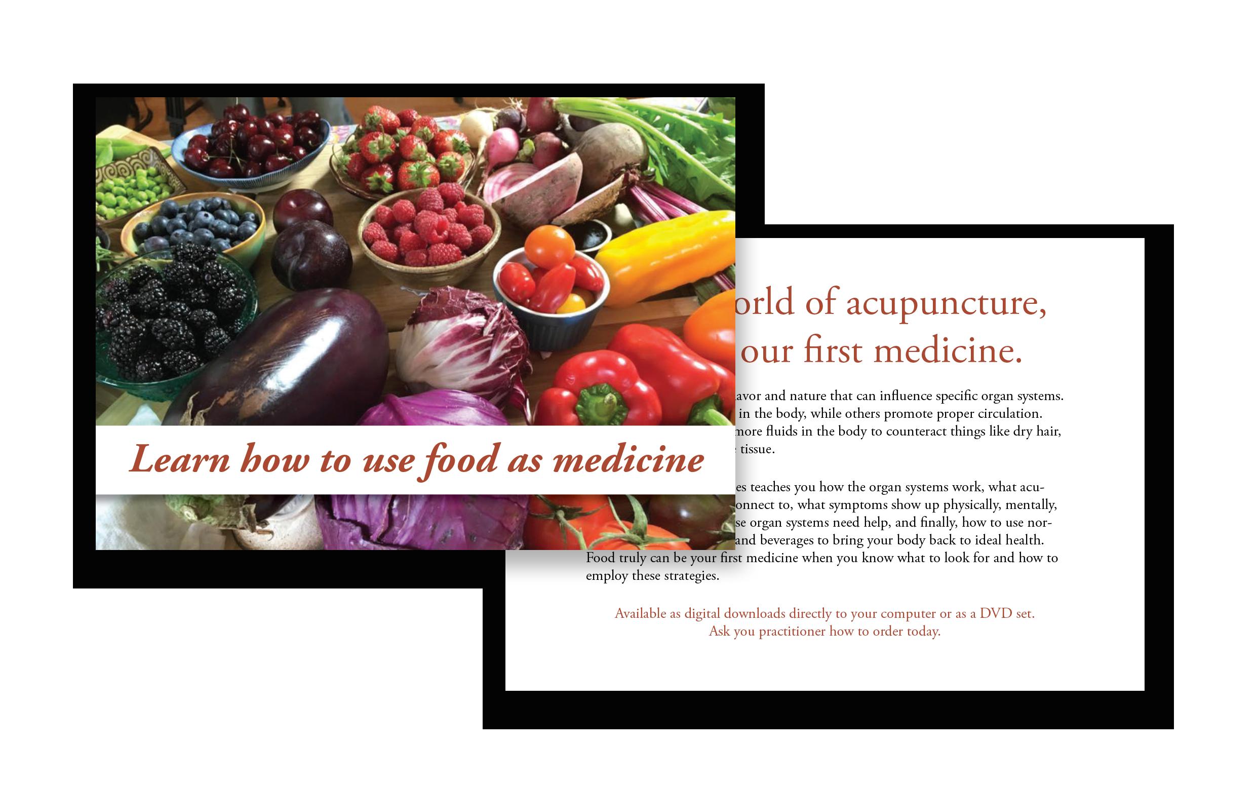 Post Card: Food as Medicine
