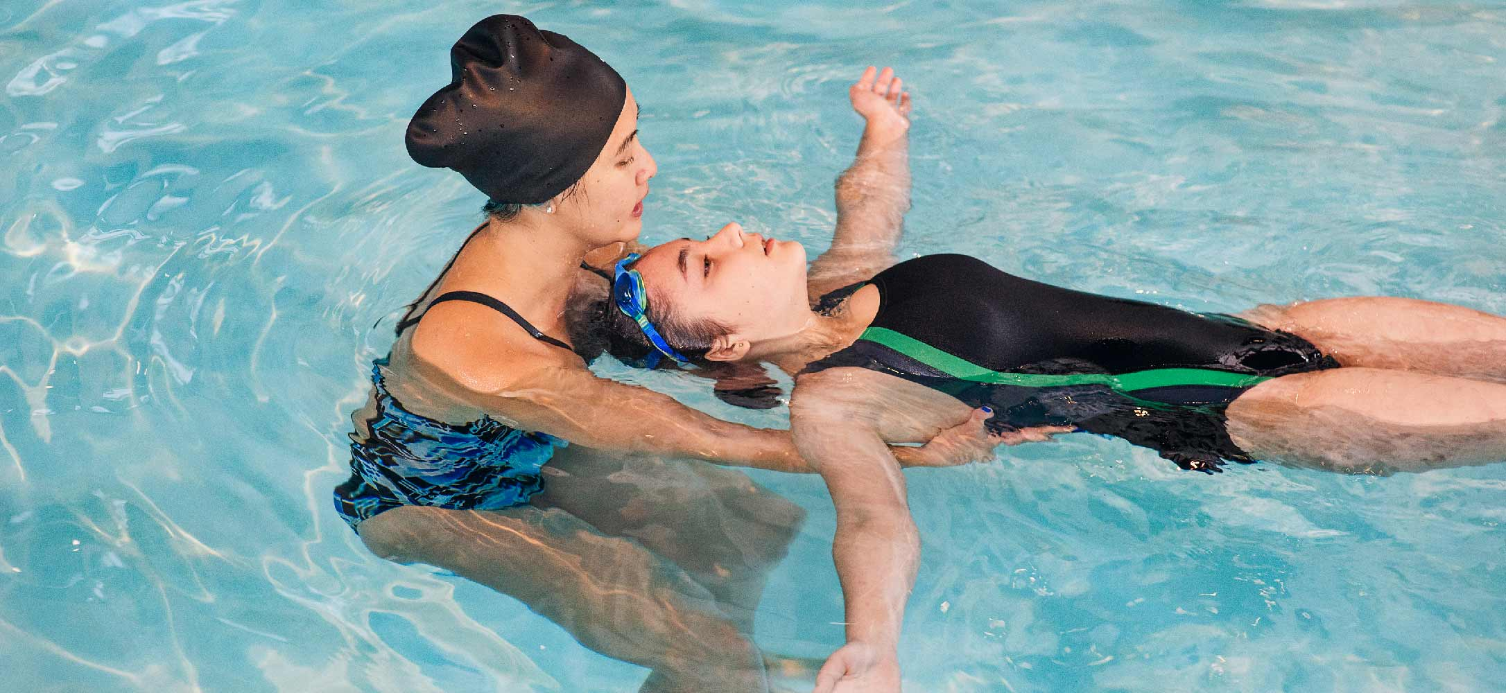 Learn How to Swim   In Your Own Home or Condo    Learn More