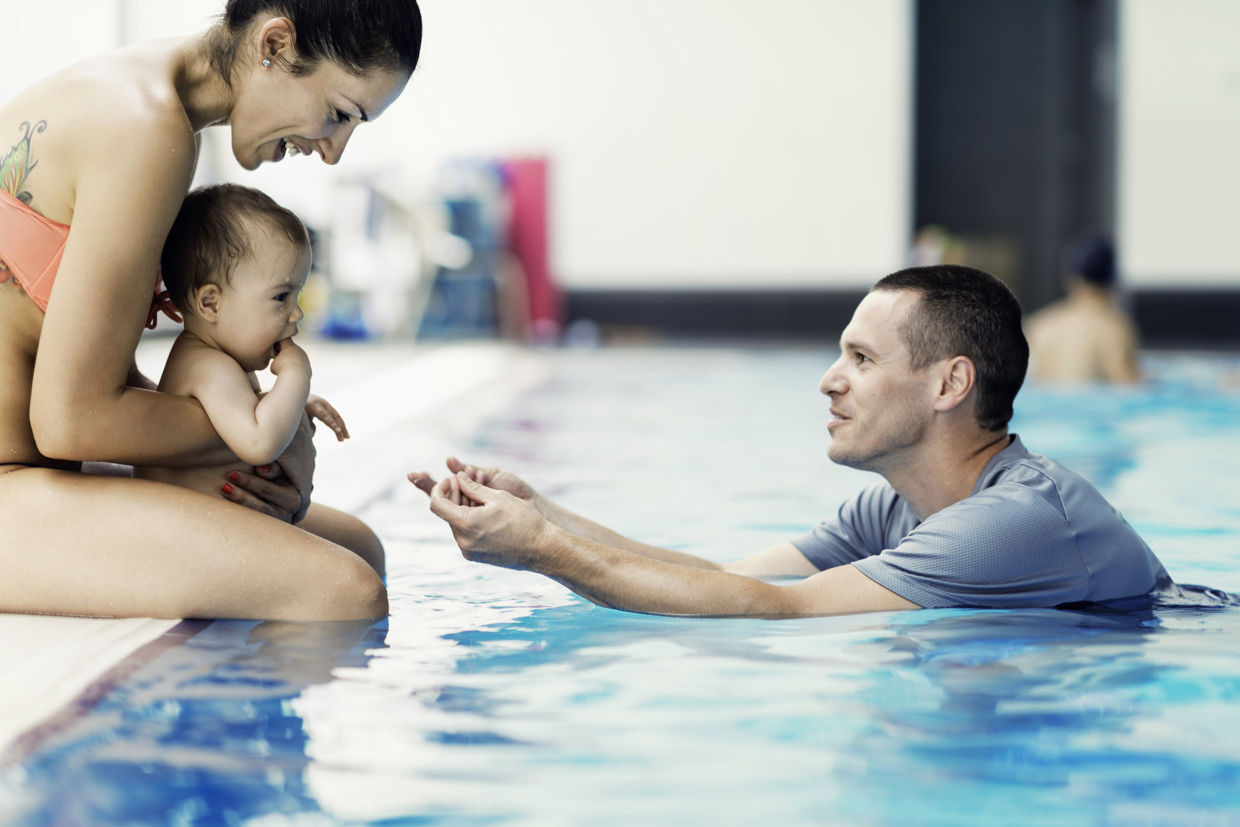 Parent & Tot Swimming Lessons