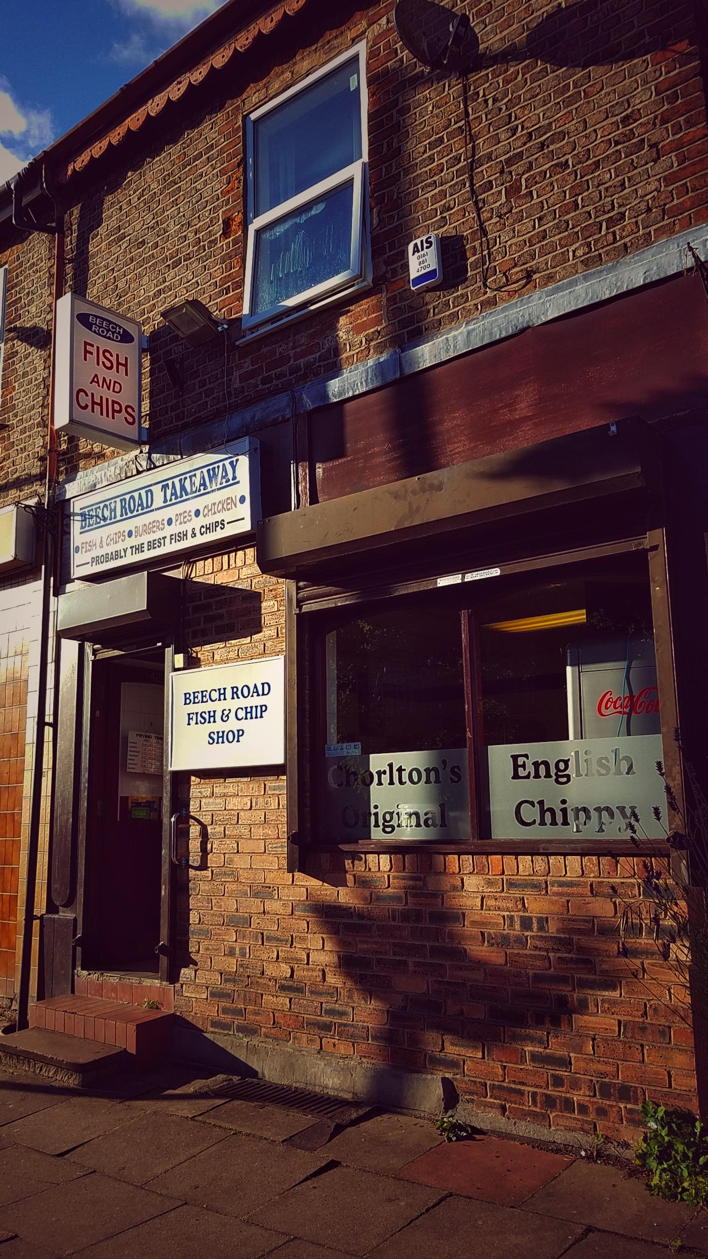 Chorlton, Manchester UK 2017