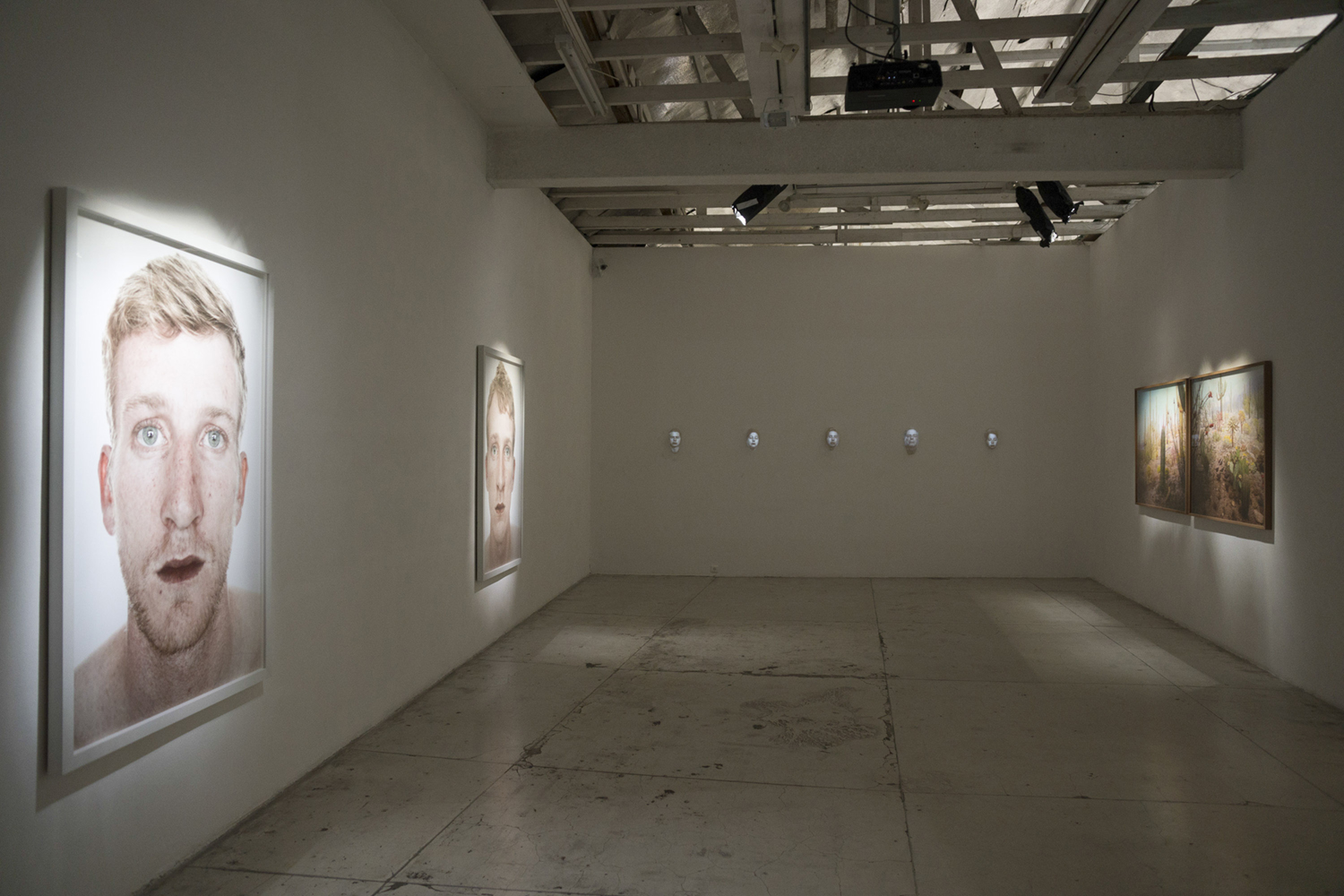No Time, solo show. installation view