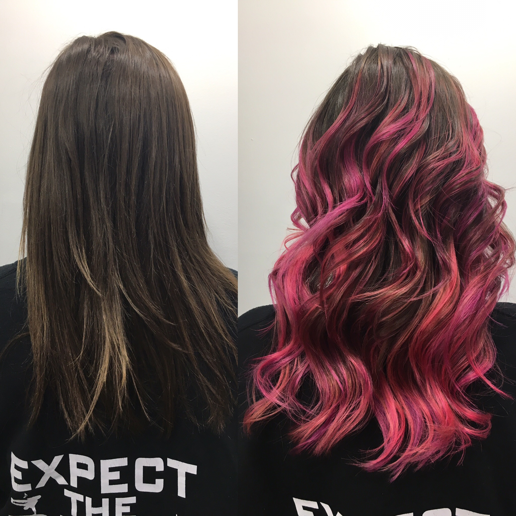 HOT PINK HAIR I MISS YOU!