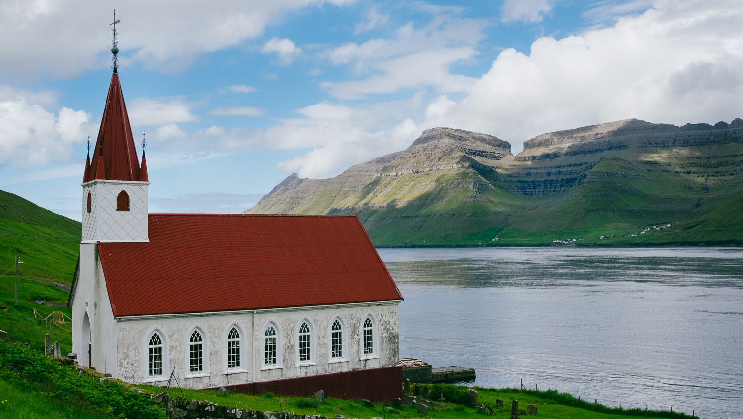 A church on Kalsoy