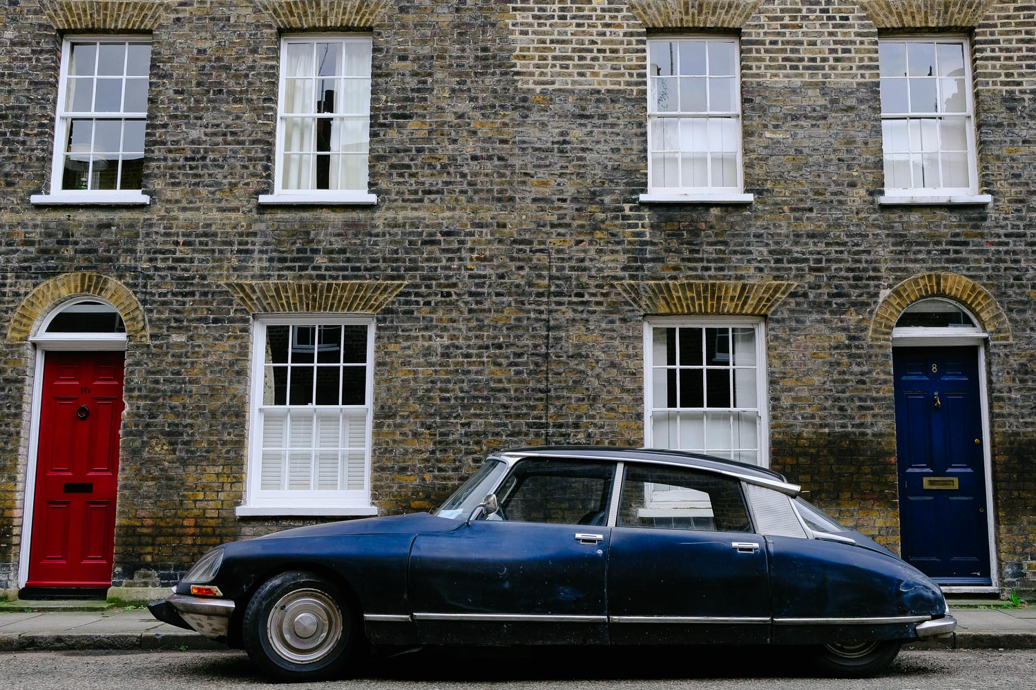 A Citroën DS on Roupell St.