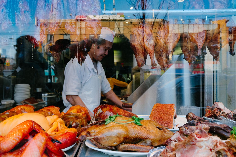 A Chinatown butcher