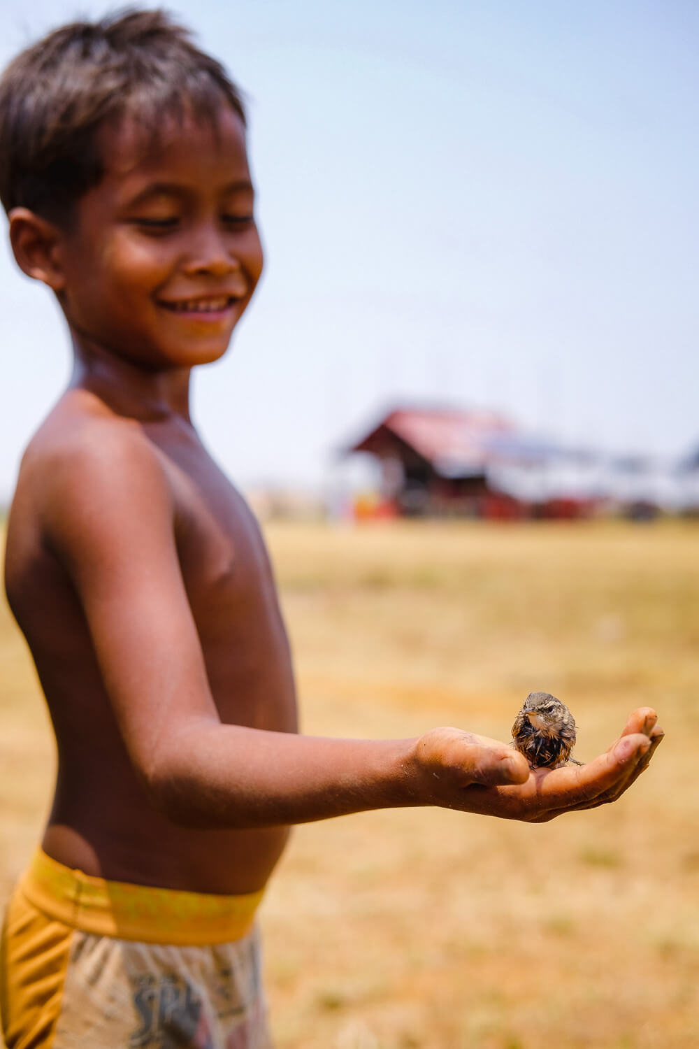 A little boy shows us his pet bird in Siem Reap.     #siemreap #angkorwat #travelguide #travelblog #siemreapitinerary #cambodia #travelphotography #landscapephotography #fujifilm #siemreapprivatetour