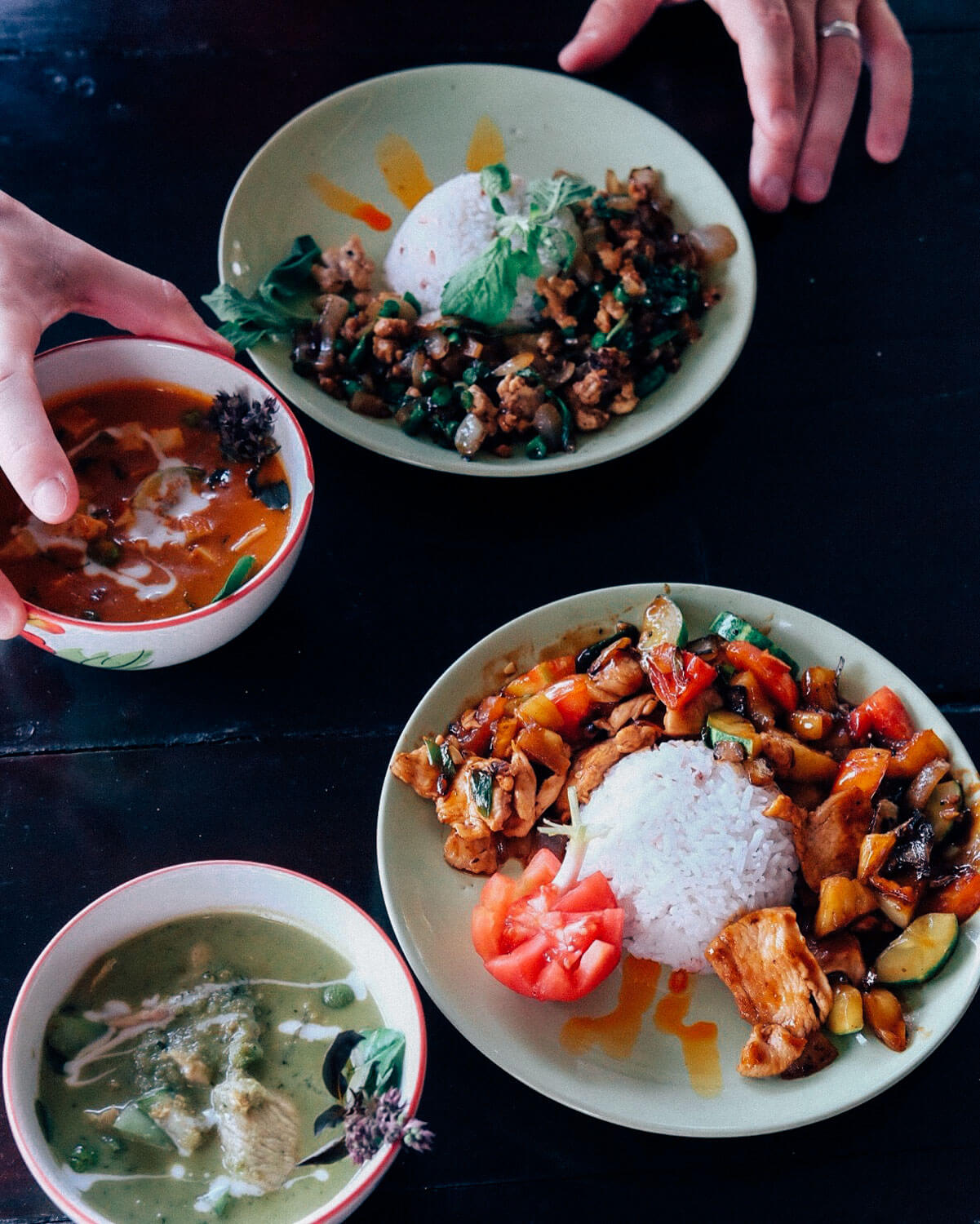 """Thai Farm Cooking School, Chiang Mai. Travel photography and guide by © Natasha Lequepeys for """"And Then I Met Yoko"""". #thailand #travelguide #travelphotography #travelitinerary #fujifilm #foodie"""