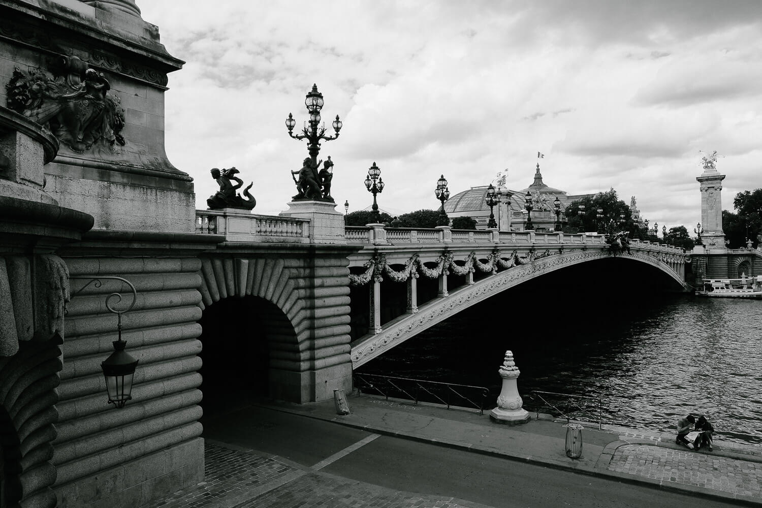 "Pont Alexandre III in Paris. Travel photography and guide by © Natasha Lequepeys for ""And Then I Met Yoko"". #paristravel #photoblog #travelguide #france #parisitinerary"