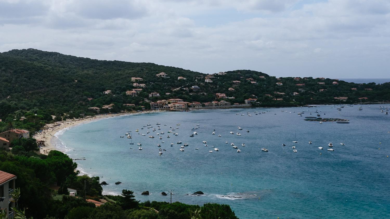 Campomoro Beach in Southern Corsica