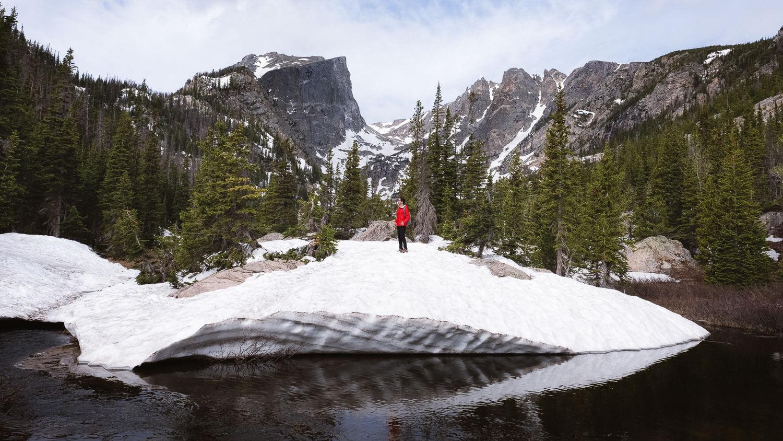 "Dream Lake, RMNP.   Travel photography and guide by © Natasha Lequepeys for ""And Then I Met Yoko"". #colorado #usa #rockymountainnationalpark #landscapephotography #coloradoitinerary #fujifilm #hiking"