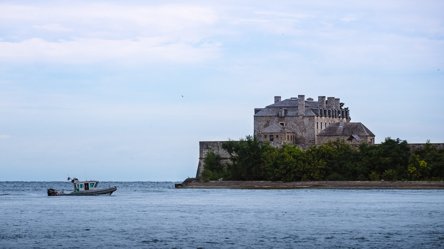 Views of the Old Fort Niagara, USA
