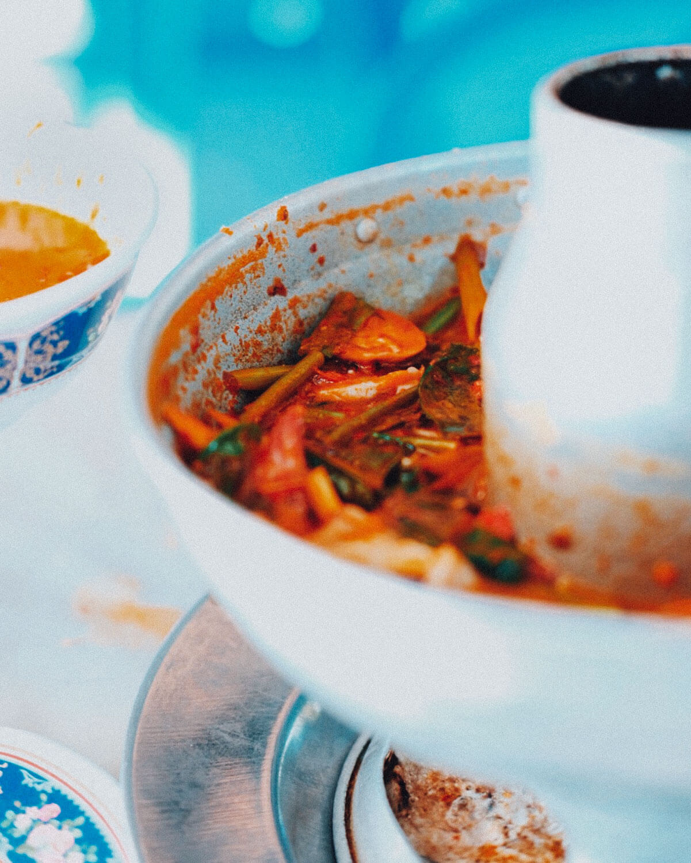 Tom Yum Soup at Preecha, Pattaya.