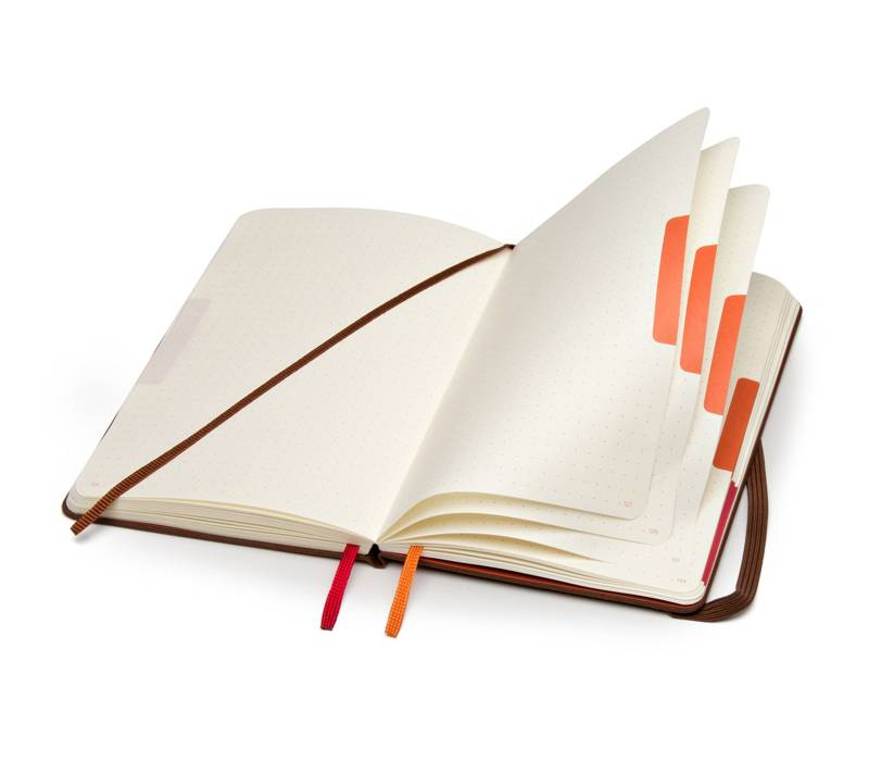The Moleskine Voyageur Notebook is the perfect gift for a traveler