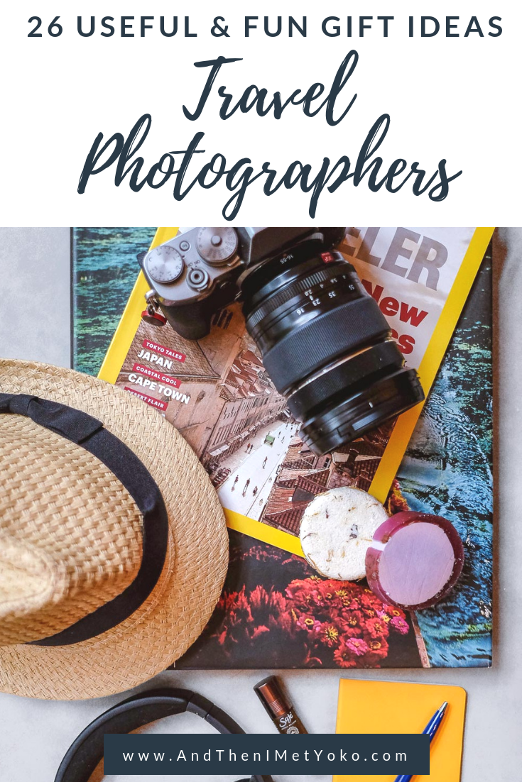Find the perfect gift for the travel photographer in your life. Gifts with an array of budgets for close ones who love travel and photography. #travel #traveler #giftguide #christmasgifts #photographergifts #photographygifts #photographystockingstuffers #travelgifts #travelergifts #traveller #fujifilm #camerabuying #christmaslist #wishlist #giftsforphotographers #giftsfortravelers #giftideas #travelblogger #travelphotographer #christmas
