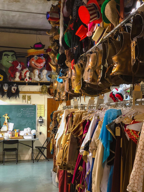 "Costumes at The Southern Costume Company. Travel photography and guide by © Natasha Lequepeys for ""And Then I Met Yoko"". #neworleans #nola #travelguide #photoblog #travelblog #travelphotography #travelitinerary #fujifilm #usa #visitnola #weekendgetaway #travel #neworleans3dayitinerary #costumes #halloween #costumeshop #halloweencostume #costumerental #costumenola #nolahalloween"