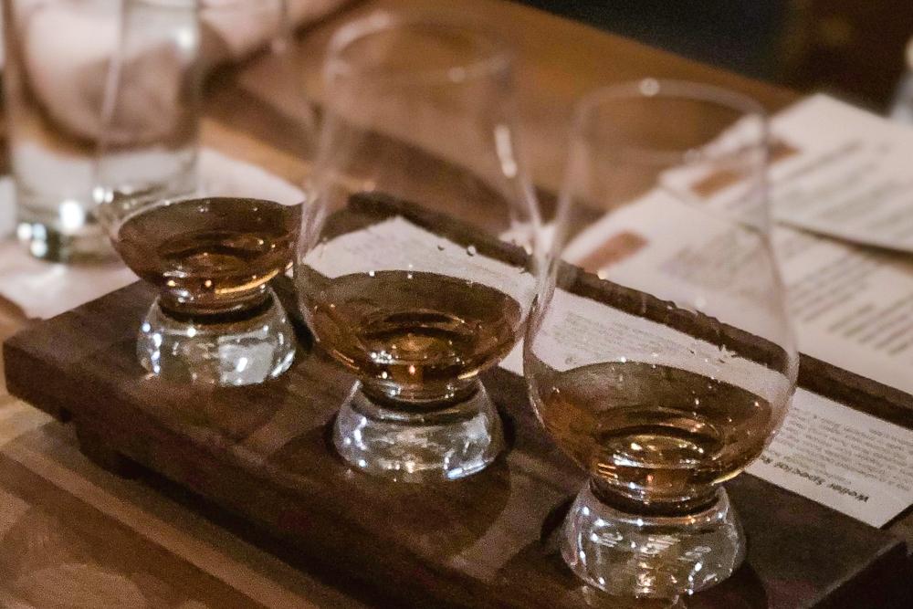 Whiskey Tasting Flight