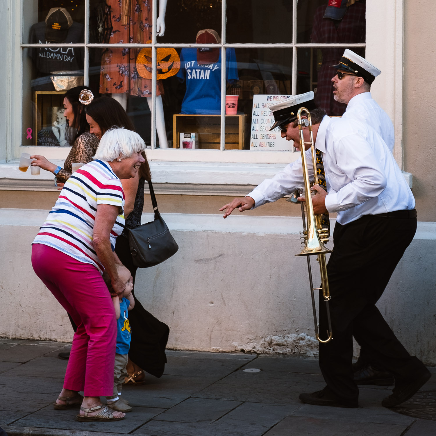 """A second line in New Orleans - Travel photography and guide by © Natasha Lequepeys for """"And Then I Met Yoko"""". #neworleans #nola #photoblog #streetphotography #travelitinerary #fujifilm"""