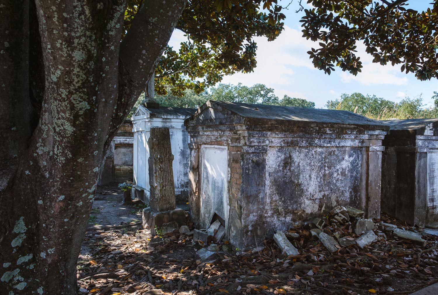 """Lafayette Cemetery - Travel photography and guide by © Natasha Lequepeys for """"And Then I Met Yoko"""". #neworleans #nola #photoblog #travelitinerary #fujifilm #cemetery"""