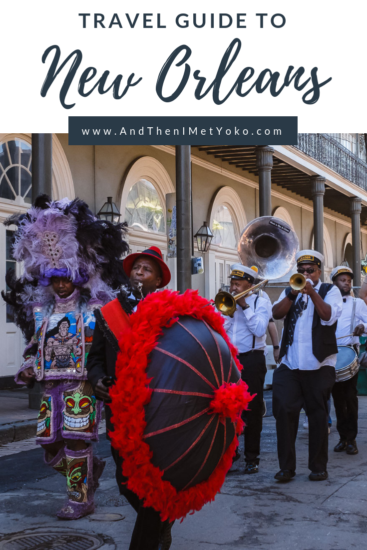 """The Ultimate New Orleans 3-Day itinerary. Travel photography and guide by © Natasha Lequepeys for """"And Then I Met Yoko"""". #neworleans #nola #travelguide #photoblog #travelblog #travelphotography #travelitinerary #fujifilm #usa #visitnola #weekendgetaway #travel #neworleans3dayitinerary #cityguide #foodguide #bourbonstreet #attractions #traveltips #traveladvice #halloween"""