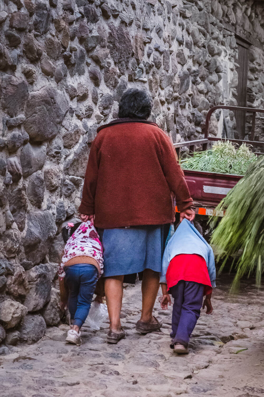 "Streets of Ollantaytambo, The Sacred Valley, Peru. Travel photography and guide by © Natasha Lequepeys for ""And Then I Met Yoko"". #travelguide #photoblog #fujifilm #machupicchu #ValleSagrado #travel"