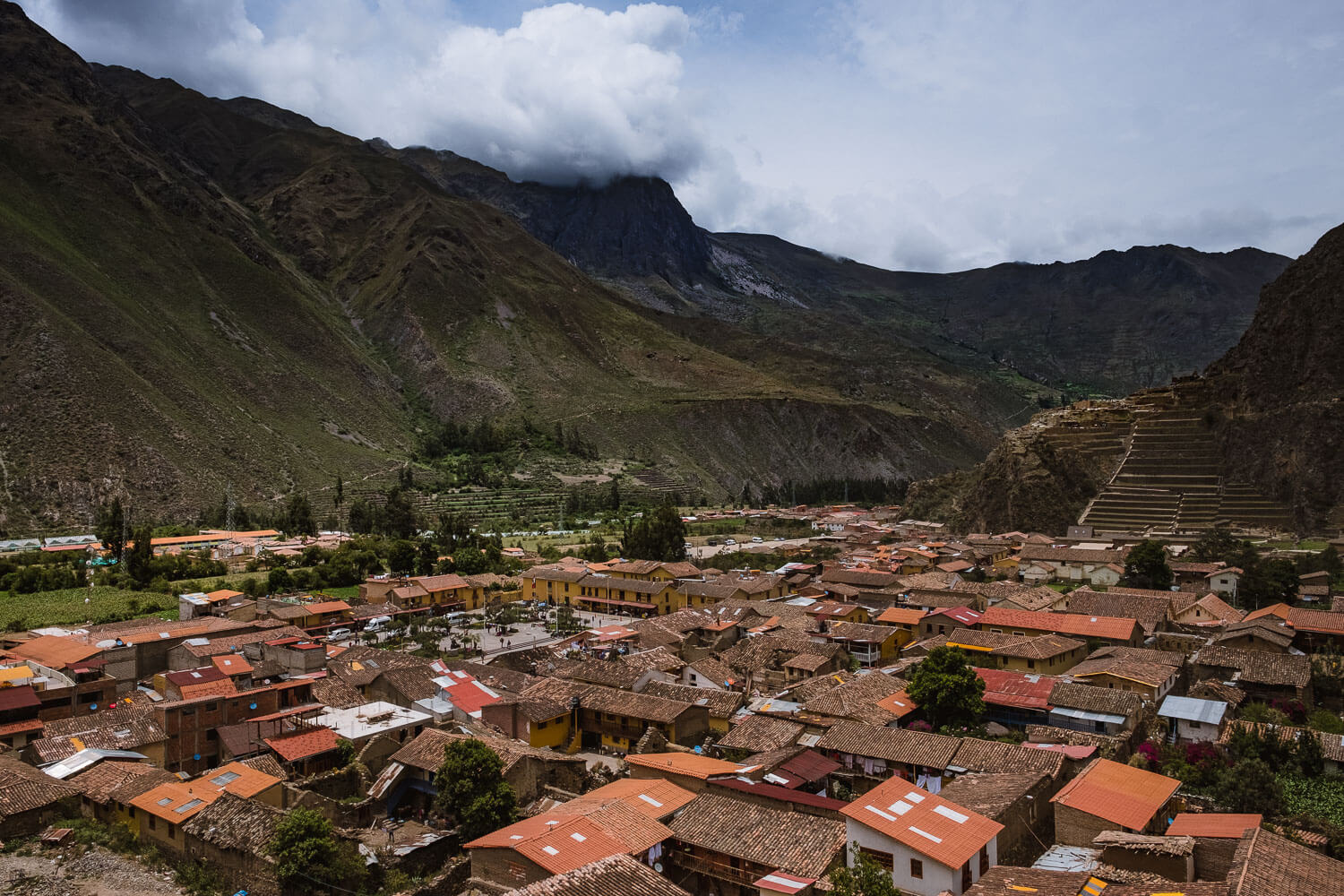 """The City of Ollantaytambo in The Sacred Valley, Peru. Travel photography and guide by © Natasha Lequepeys for """"And Then I Met Yoko"""". #travelblog #fujifilm #sacredvalleyitinerary"""