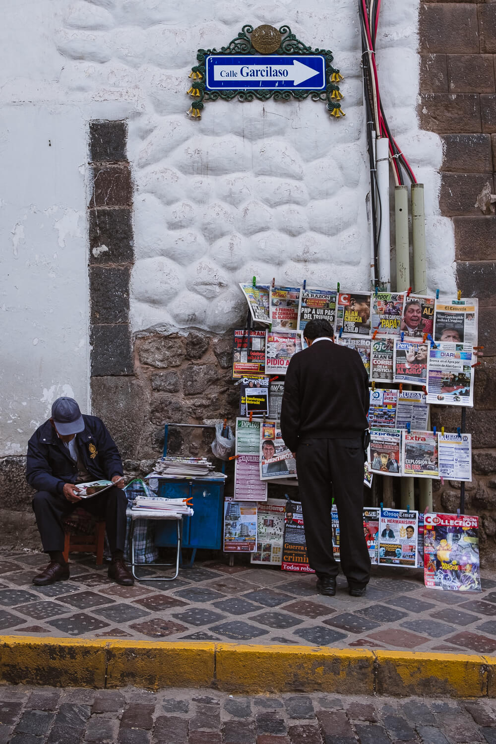 """The streets of Cusco. Travel photography and guide by © Natasha Lequepeys for """"And Then I Met Yoko"""". #cusco #peru #photoblog #travelblog #peruitinerary #cuscoitinerary"""