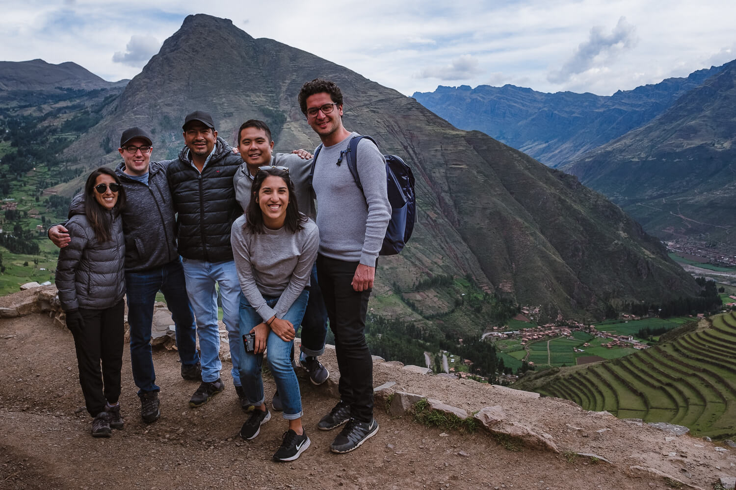 Carlos with our group in Pisac