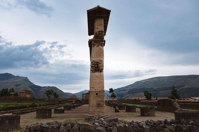 "The Temple of Wiracocha, Raqch'i. Travel photography and guide by © Natasha Lequepeys for ""And Then I Met Yoko"". #peru #sacredvalley #cusco #laketiticaca #belmondandeanexplorer #perurail #perutrain #luxurytravel #sleepertrain #photoblog #travelblog #travelphotography #fujifilm #andes #travel #travelperu #cuscotolaketiticaca #spiritofthelake #belmond #puno #southamerica"