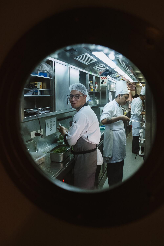 "The chef on the Belmond Andean Explorer. Travel photography and guide by © Natasha Lequepeys for ""And Then I Met Yoko"". #peru #sacredvalley #cusco #laketiticaca #belmondandeanexplorer #perurail #perutrain #luxurytravel #sleepertrain #photoblog #travelblog #travelphotography #fujifilm #andes #travel #travelperu #cuscotolaketiticaca #spiritofthelake #belmond #puno #southamerica"