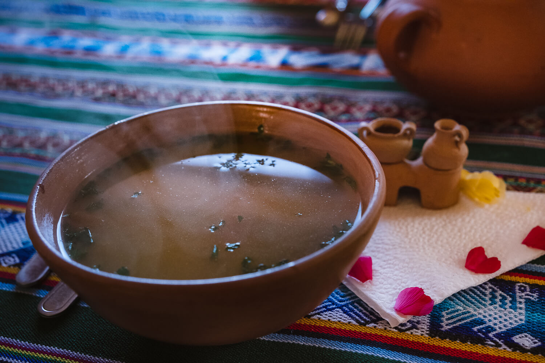 "Quinoa Soup, Amantani Island. Travel photography and guide by © Natasha Lequepeys for ""And Then I Met Yoko"". #peru #laketiticaca #homestay #photoblog #travelblog #fujifilm"