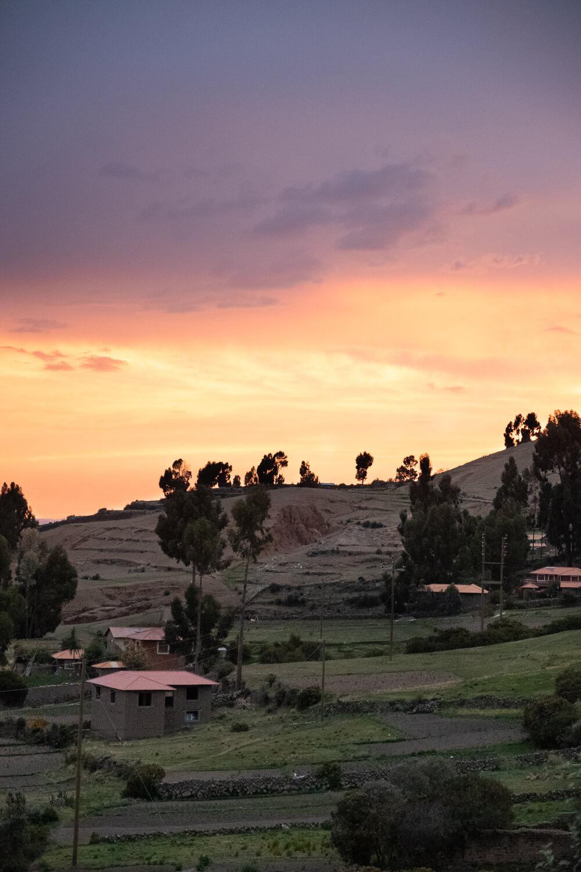 "Sunset on Amantani Island. Travel photography and guide by © Natasha Lequepeys for ""And Then I Met Yoko"". #peru #laketiticaca #amantani #taquile #homestay #culturalexperience #photoblog #travelblog #travelphotography #fujifilm #travel #travelperu #southamerica #allwaystravel #laketiticacaitinerary #puno #uros #floatingislands #pachamama #pachatata"