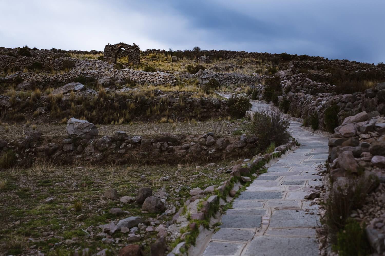 "Path to Pachamama, Amantani Island. Travel photography and guide by © Natasha Lequepeys for ""And Then I Met Yoko"". #peru #laketiticaca #homestay #photoblog #travelblog #fujifilm"