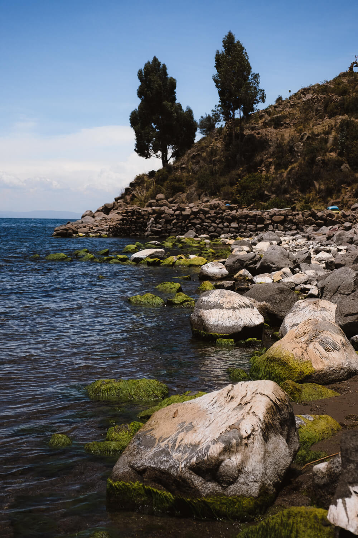 "Near the dock, Taquile Island. Travel photography and guide by © Natasha Lequepeys for ""And Then I Met Yoko"". #peru #laketiticaca #homestay #photoblog #travelblog #fujifilm"