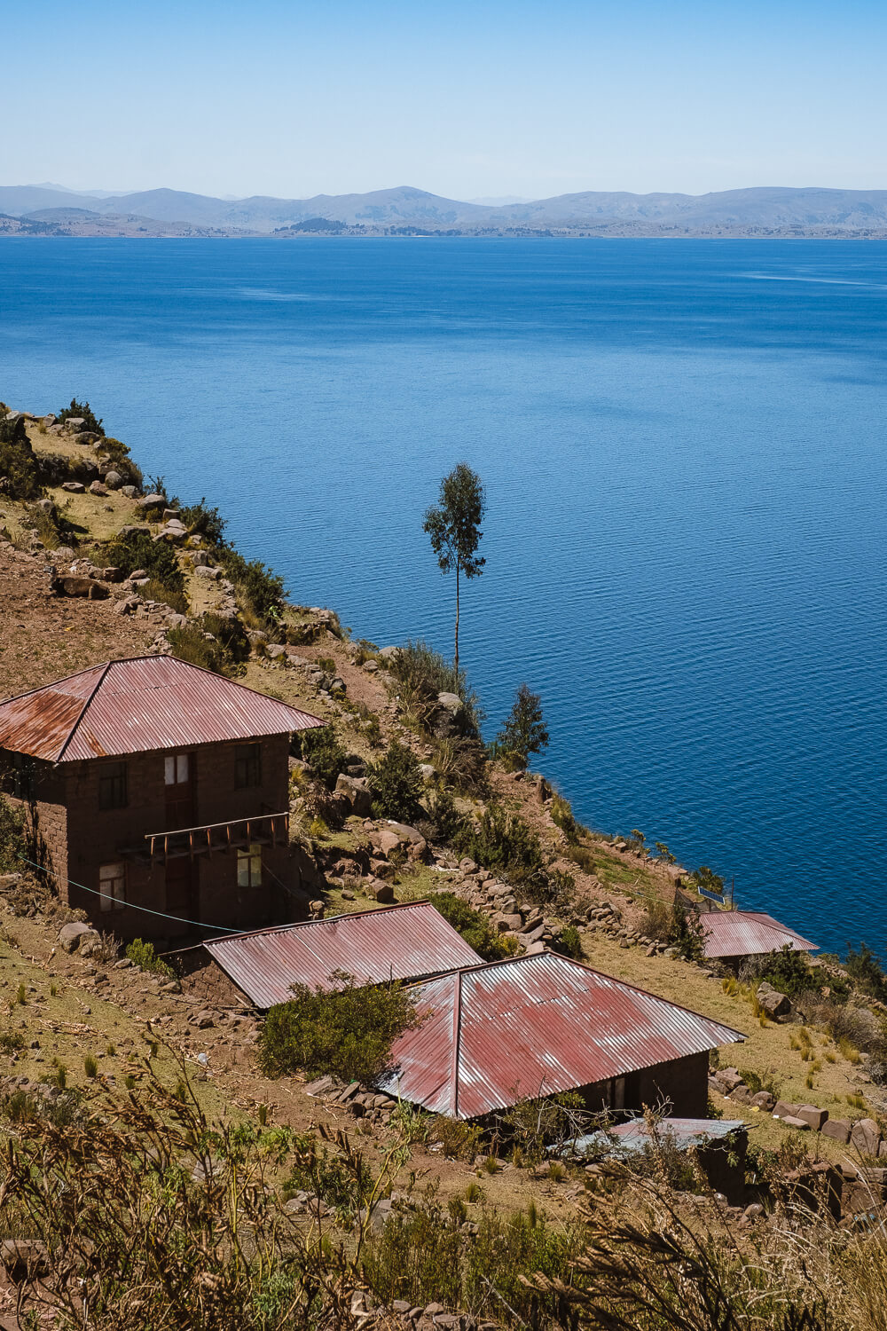 """Views from Taquile Island. Travel photography and guide by © Natasha Lequepeys for """"And Then I Met Yoko"""". #peru #laketiticaca #homestay #photoblog #travelblog #fujifilm"""