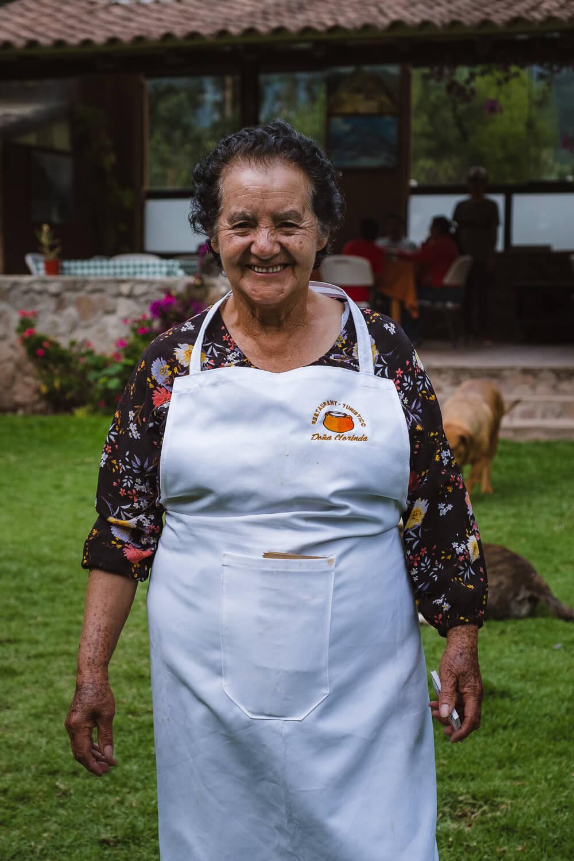 Dona Clorinda herself