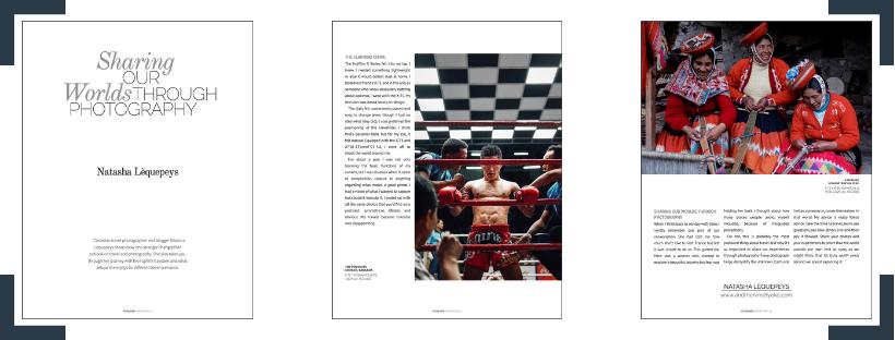 Fujilove Monthly Magazine - February 2019 issue - Natasha Lequepeys