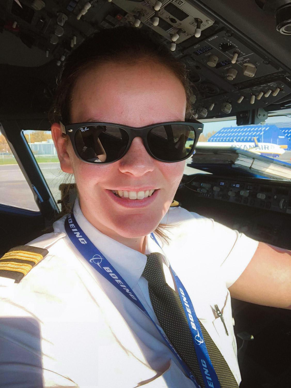 Pilot Sarah Dunglinson
