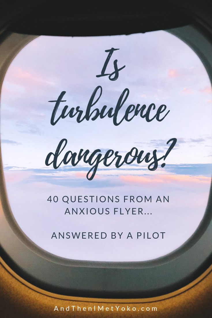 "40 Questions from an Anxious Flyer - Answered by a Pilot. © Photography and content developed by Natasha Lequepeys for ""And Then I Met Yoko"" #anxiousflyer #nervousflyer #fearofflying #askapilot #traveltips #travelblog"
