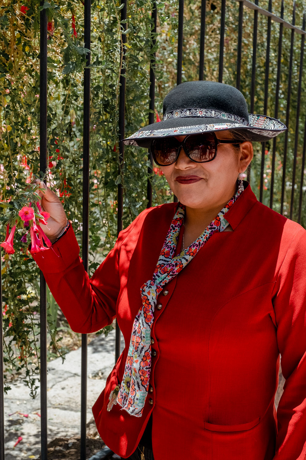 """A guide at the Santa Catalina Monastery, Arequipa. Travel photography and guide by © Natasha Lequepeys for """"And Then I Met Yoko"""". #peru #photoblog #fujifilm"""