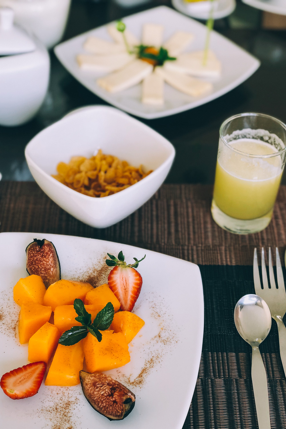 """Breakfast at Beausejour Boutique Hotel Arequipa, Peru. Travel photography and guide by © Natasha Lequepeys for """"And Then I Met Yoko"""". #peru #photoblog #fujifilm"""