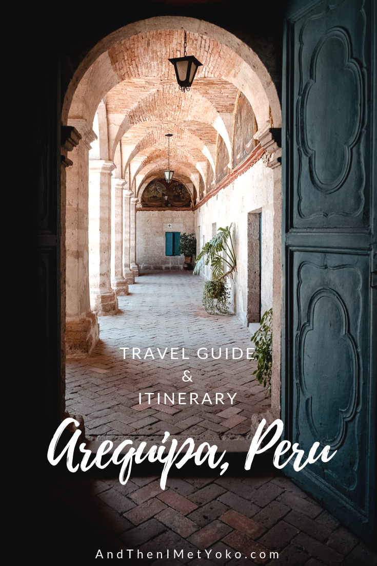 """A photographic travel guide for a full day in Arequipa. Travel photography and guide by © Natasha Lequepeys for """"And Then I Met Yoko"""". #peru #photoblog #fujifilm"""