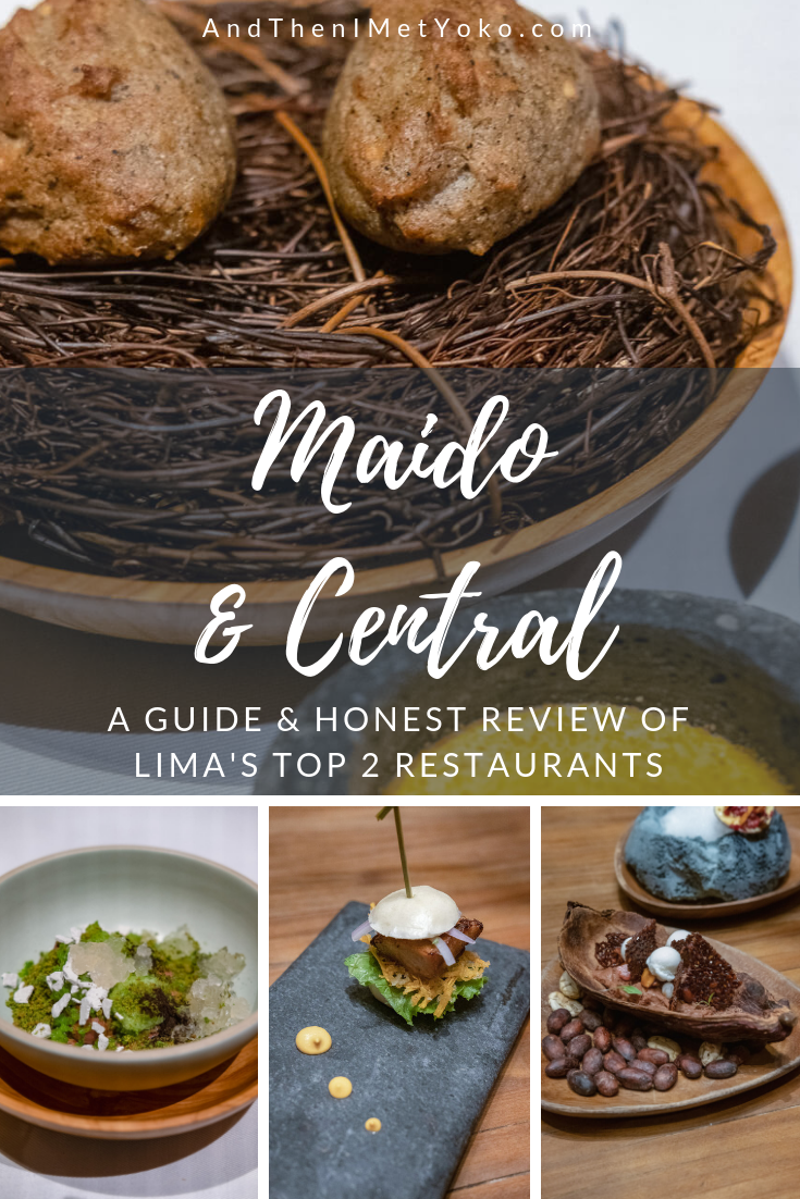 "Maido and Central are 2 of Lima's Best Restaurants. This guide will help you decide which to visit if you only have one day. Travel photography and guide by © Natasha Lequepeys for ""And Then I Met Yoko"". #photoblog #travelblog #foodie"