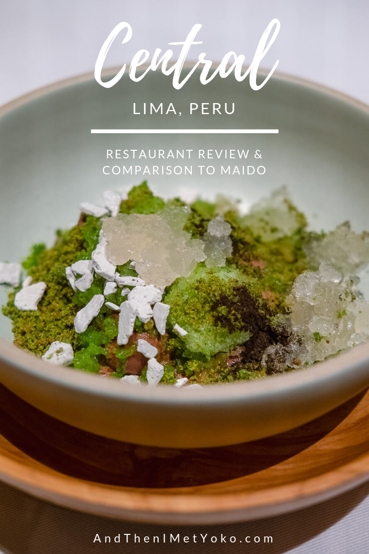 "Central and Maido are 2 of Lima's Best Restaurants. This guide will help you decide which to visit. Travel photography and guide by © Natasha Lequepeys for ""And Then I Met Yoko"". #photoblog #travelblog #foodie"